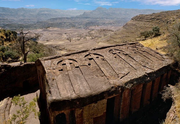 Древние церкви Эфиопии 12