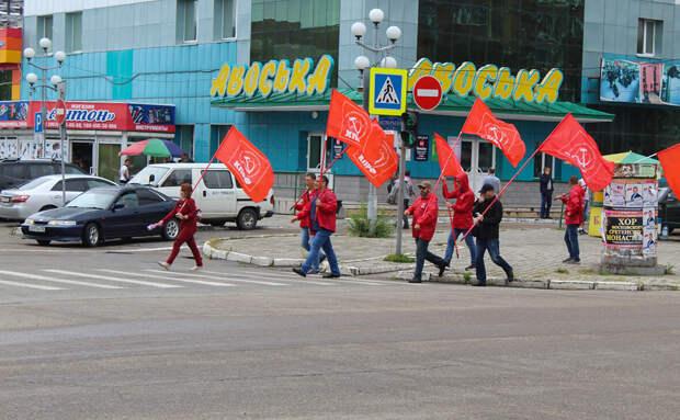 Хабаровск, коммунисты, митинг. А почему сейчас?