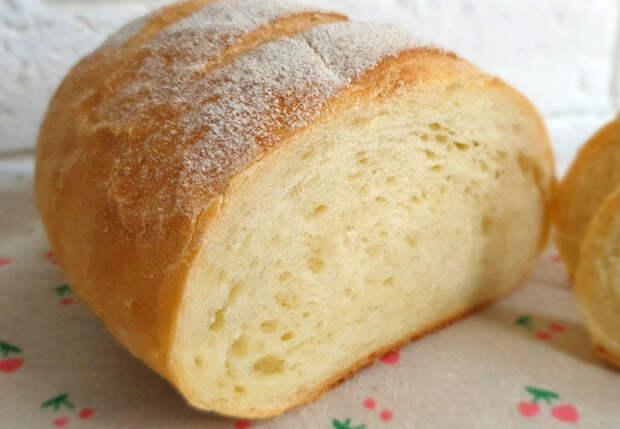 Воздушный хлеб печем сами: не крошится и остается свежим надолго