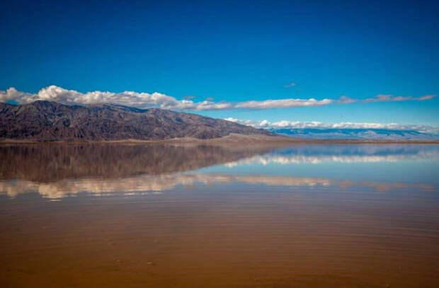 В самом сухом месте Земли появилось озеро