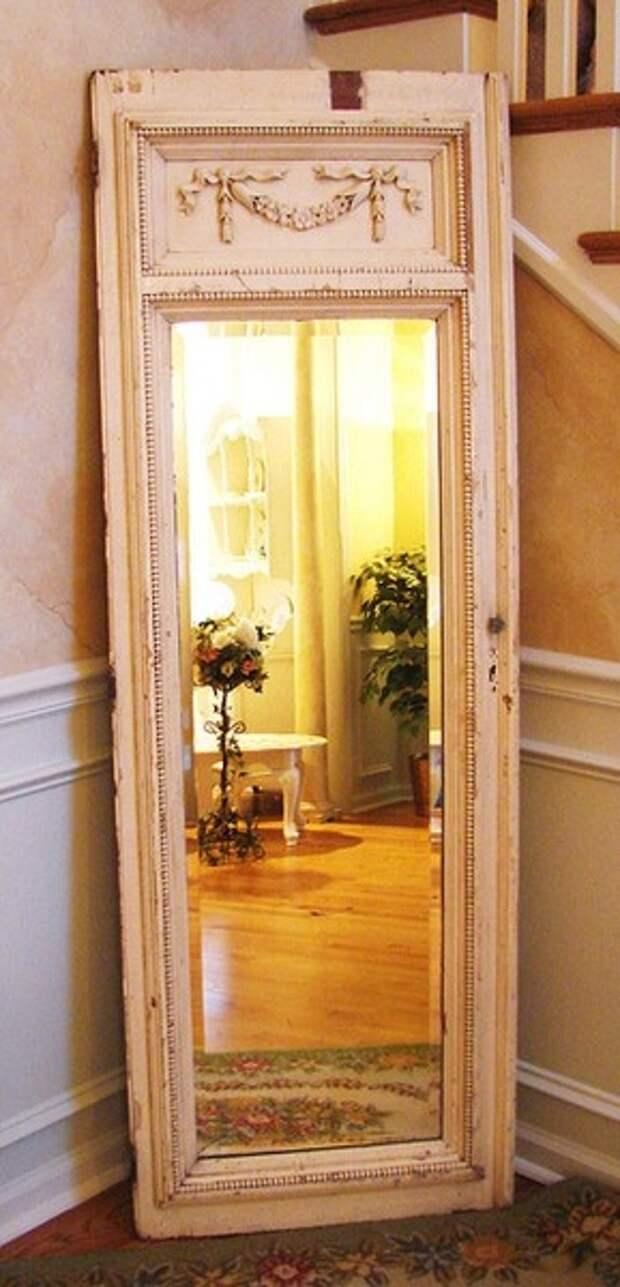 Новая жизнь старой двери