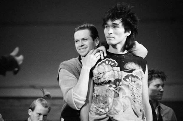 Борис Гребенщиков и Виктор Цой. 1983 год история, ретро, фото, это интересно