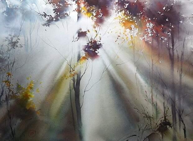 художник Илья Ибряев картины - 09