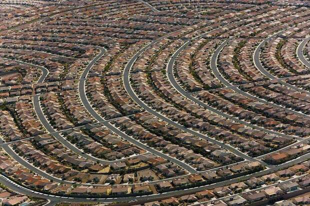 Пригород Лас-Вегаса.
