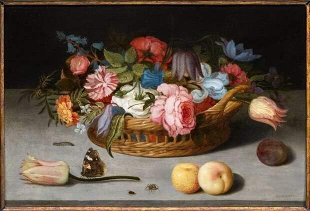 Бальтазар ван дер Аст (нидерл. Balthasar van der Ast; ок. 1593, Мидделбург — 1657, Делфт) — нидерландский художник и рисовальщик. голландские натюрморты, живопись, искусство, красота, цветы