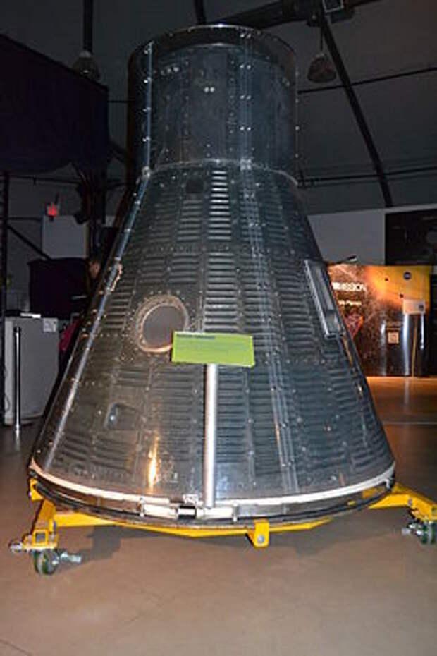 Космический корабль Меркурий в НАСА в Эймсе.JPG