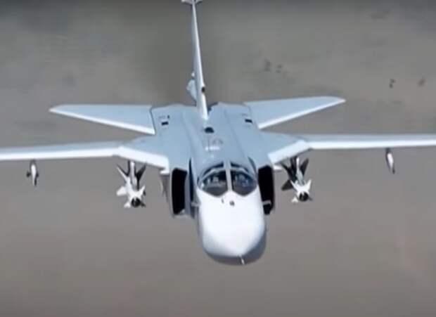 В Пермском крае разбился бомбардировщик Су-24