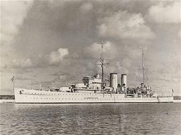Боевые корабли: последние британские полутяжелые