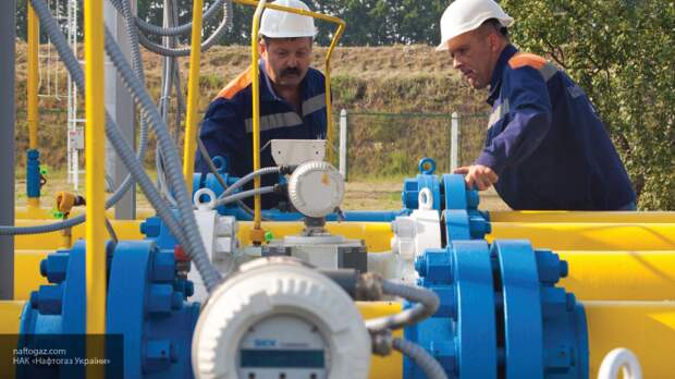 Украина начала сокращать запасы газа в хранилищах