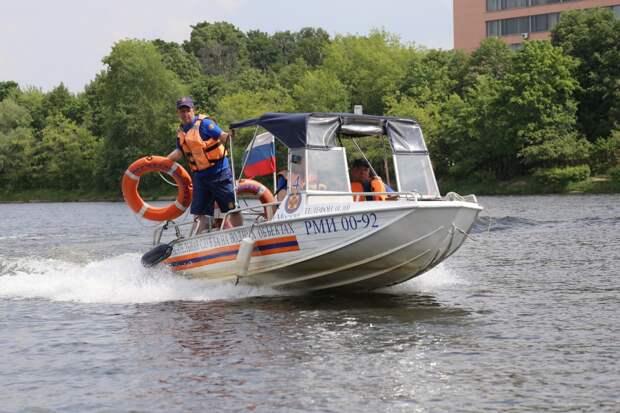 Спасатели Службы ГО и ЧС по Северному округу напоминают о правилах безопасности при отдыхе у воды