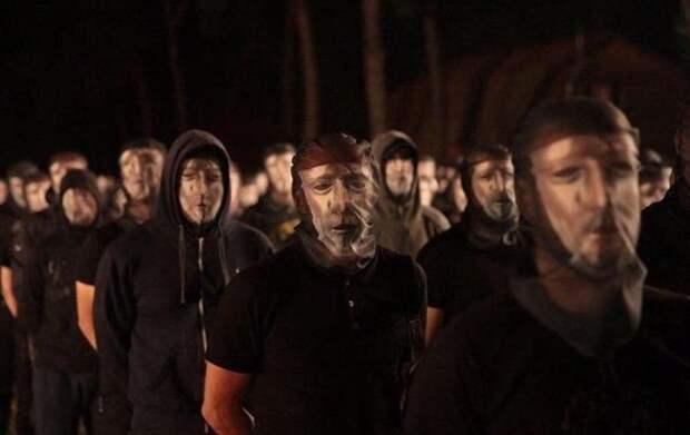 Свидомые центурионы: в селе под Киевом презентовали новую радикальную группировку