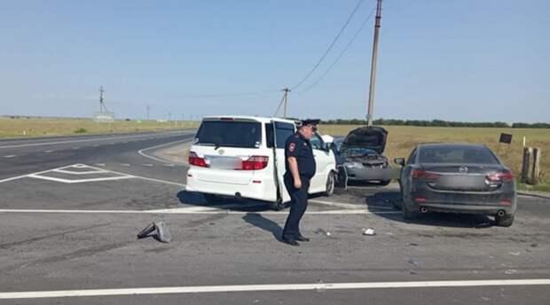 Три ребенка пострадали в дорожной аварии в Крыму
