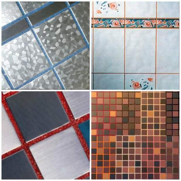 Как правильно подобрать затирку для плитки, если при кладке использовались элементы разных цветов