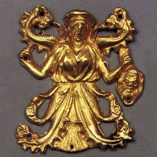 Крым, курган Куль-Оба, IV век. до н. э.- Великая Мать - Апи