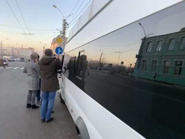 Антиковидные рейды по общественному транспорту проходят в Чите