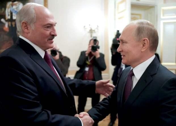 Путин и Лукашенко обсудили ситуацию с задержанием 33 предполагаемых бойцов ЧВК