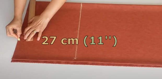 Как легко сшить укороченные брюки со сборкой на талии