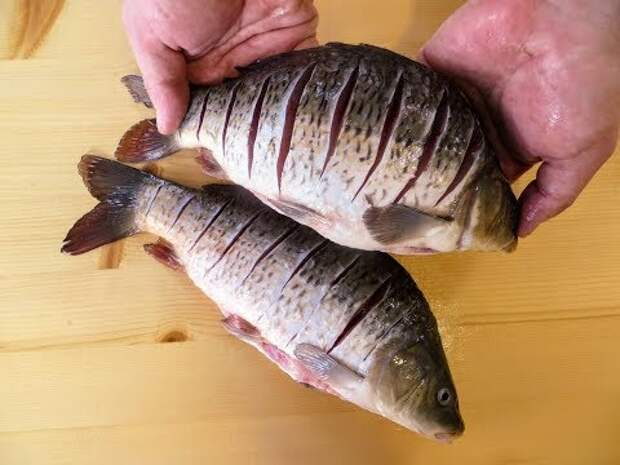 Рецепт рыбы, которому меня научили друзья корейцы