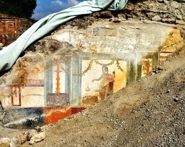 Начало расчистки археология, история, расследование, тайны