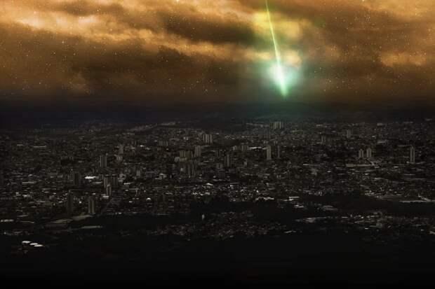 Падение метеорита заметили жители Норвегии