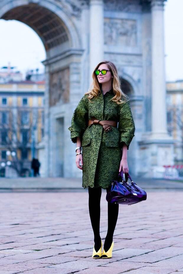 Любителям одежды цвета хаки посвящается: как носить и с какими цветами сочетать