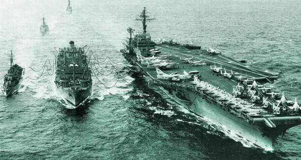 Как советские подводники авианосец таранили СССР, день в истории, сша, холодная война
