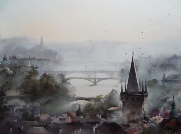 художник Илья Ибряев картины - 16