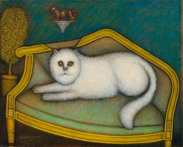 Моррис Хиршфилд, который начал рисовать от скуки в 65 лет