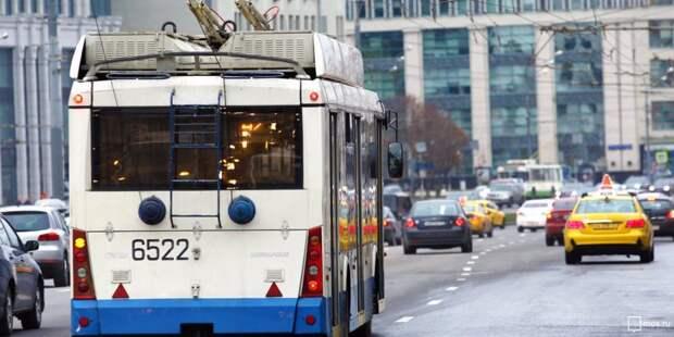 Троллейбус № 6 в САО заменили автобусом № т6