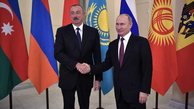 Путин обсудил с Алиевым ситуацию в Нагорном Карабахе