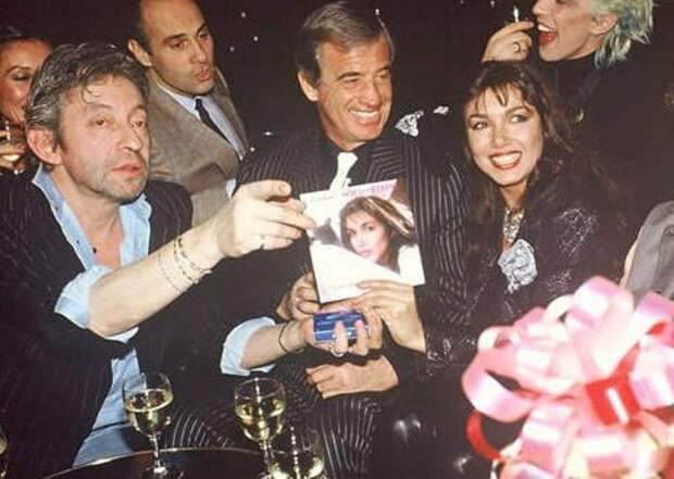 Актер с Марией Карлос Сотомайор и Сержем Гинсбургом, 1985