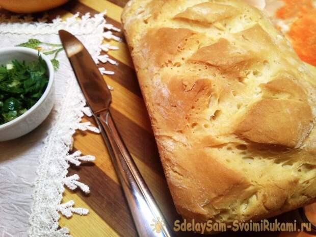 Как просто испечь домашний хлеб без хлебопечки