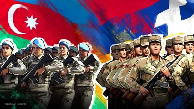 Азербайджан и Армения договорились о перемирии в Нагорном Карабахе