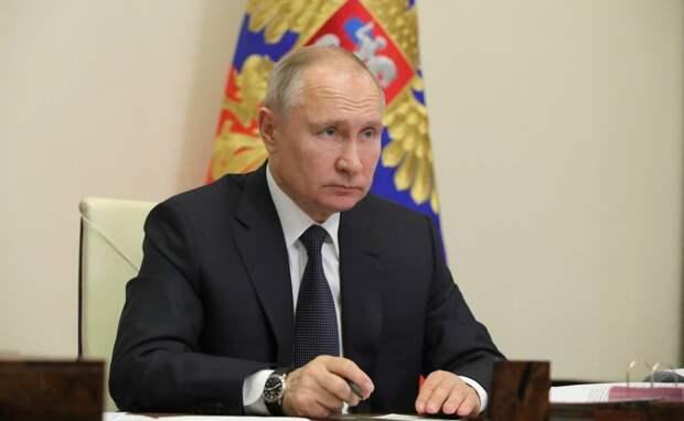 Совещание Путина с правительством