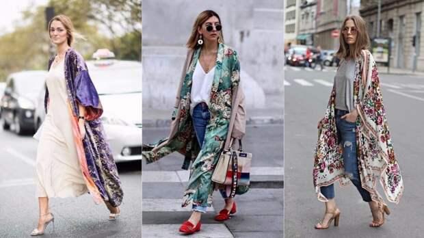 Облачаемся в кимоно: модные образы на любой случай