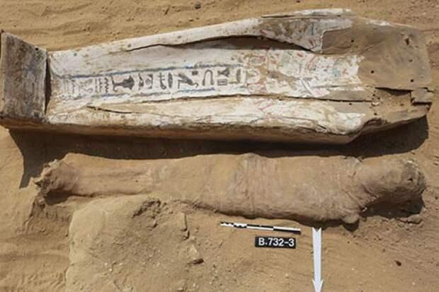 У стен древнейшей египетской пирамиды обнаружили десятки странных мумий