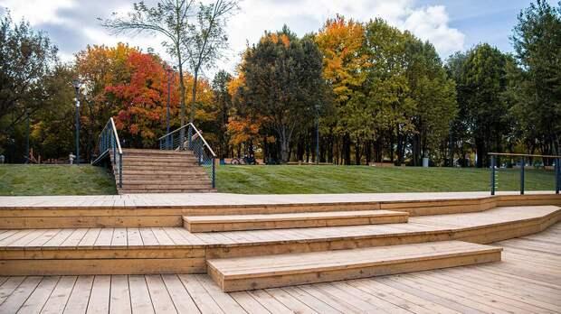 Более 180 гектаров будущего «Парка Яуза» благоустроили за последние пять лет
