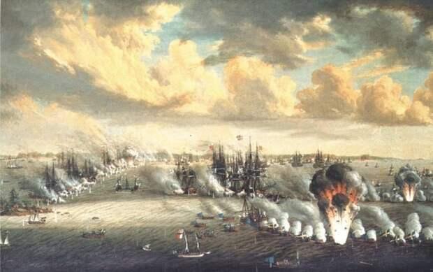 Разгром русского флота во Втором Роченсальмском сражении