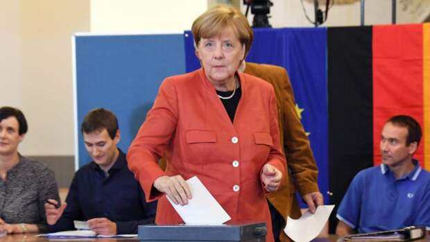 Выборы уже в это воскресенье: Меркель не собирается идти на избирательный участок