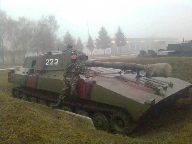 Состояние артиллерийского вооружения украинской армии