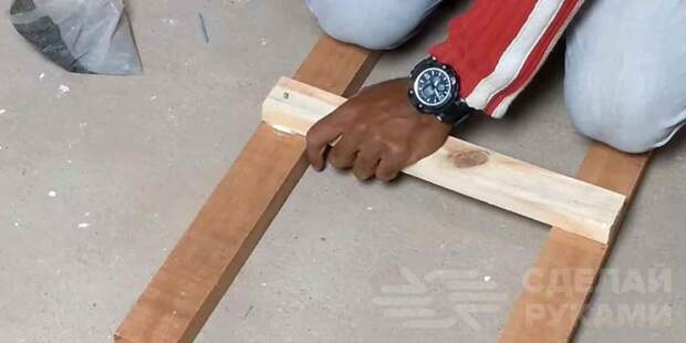 Как сделать простую деревянную тумбу под раковину