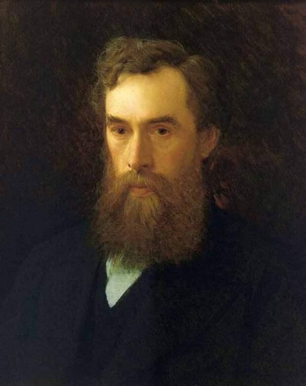 Павел Михайлович Третьяков. Портрет работы И.Н. Крамского. 1876 г.