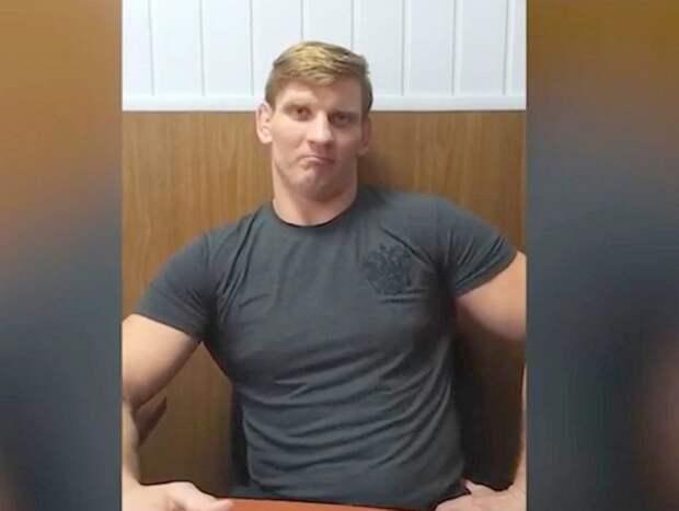 Белоруссия показала на видео выданного Россией бойца MMA Алексея Кудина (ВИДЕО)