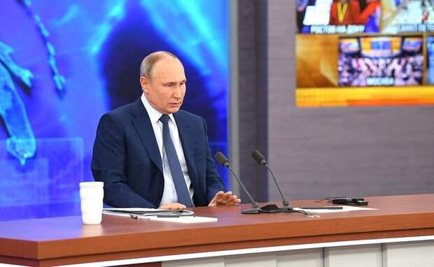 Президент РФ Владимир Путин: Россия будет готова к появлению гиперзвукового оружия у США