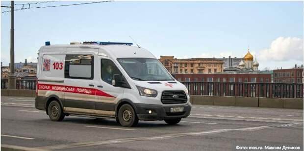 Полицейский спас жизнь пытавшемуся покончить с собой мужчине в центре Москвы