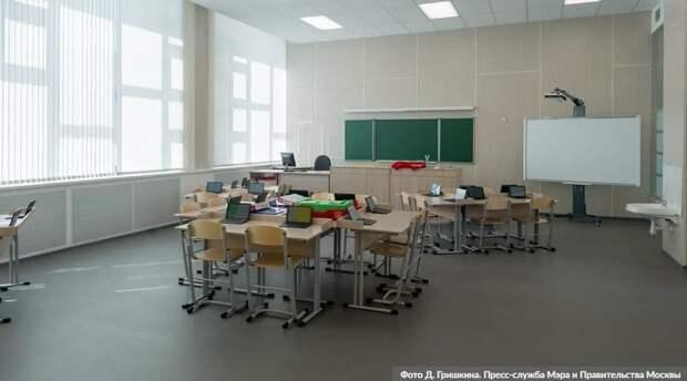 Собянин: вслед за модернизацией поликлиник создается единый московский стандарт школ / Фото: Д.Гришкин, mos.ru