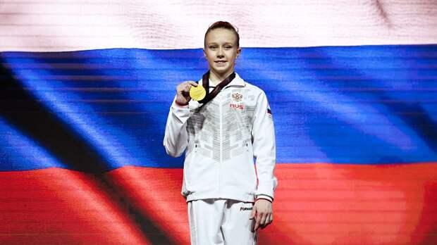 Победившая на чемпионате Европы 15-летняя российская гимнастка Листунова: «Испытываю невероятные чувства»