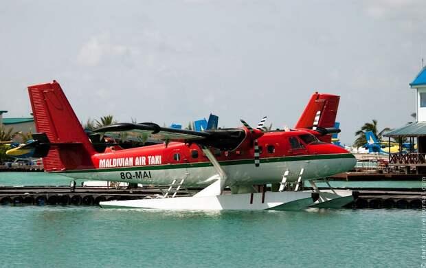 Мальдивские острова с высоты птичьего полета