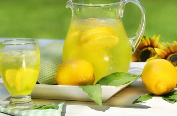 Зачем пить воду с лимоном?