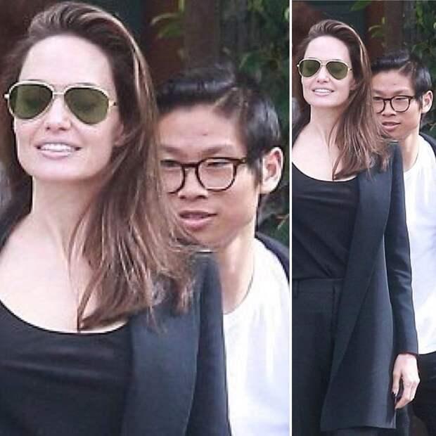 Джоли странно отреагировала на беременность Энистон